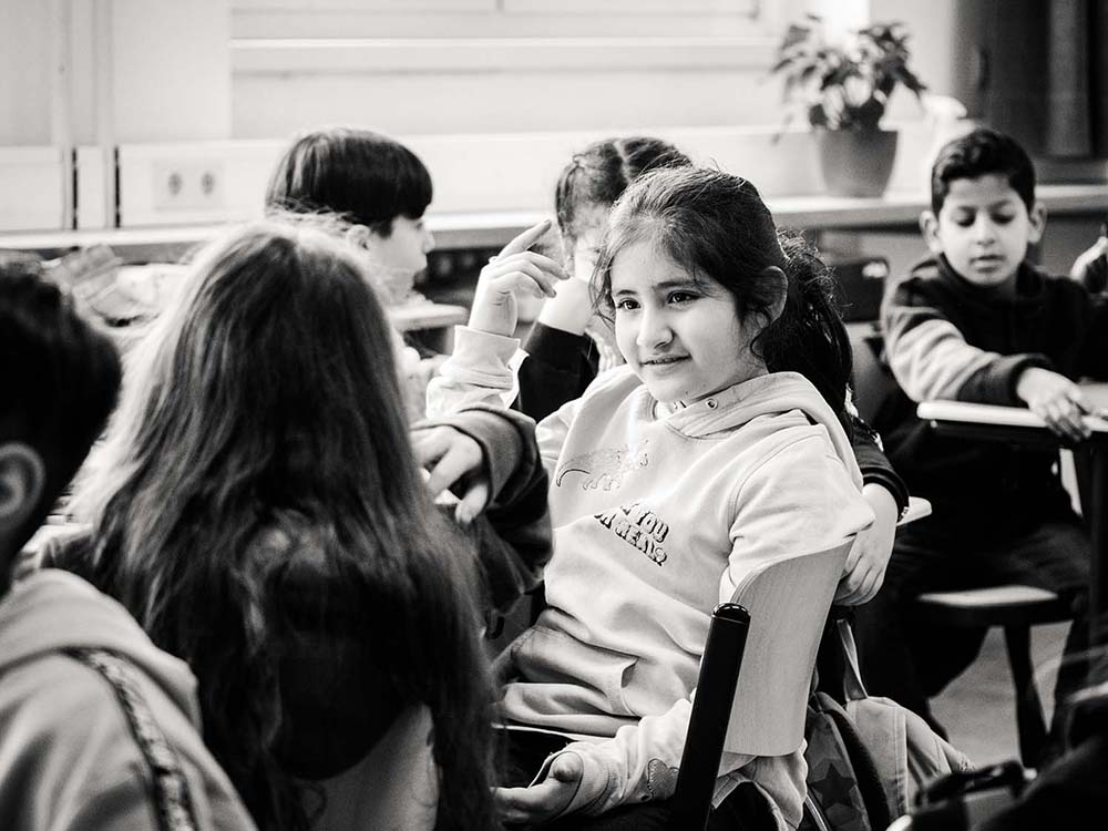 sw-Foto: Schüler im Klassenraum